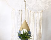 Ready to Ship Raindrop Vessels - Hanging Planter