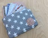 Ready to Ship Cash Envelope Wallet - Cash Envelope System - Cash Budgeting System - Zipped Cash Envelopes - Tim Holtz Correspondence II