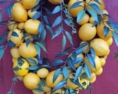 Oval Lemon to Lemon Wreath