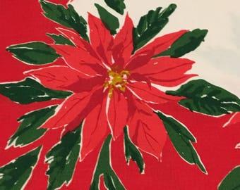 Vintage Christmas Tablecloth