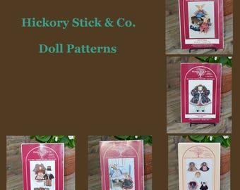Hickory Stick & Co Doll Patterns
