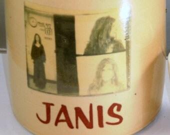 janis joplin mugshot moonshine jug whiskey handmade