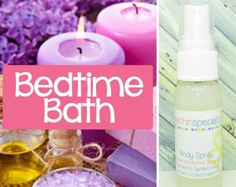 Bedtime Bath Body Spray, Room Spray, Kids Spray, Bath Spray, Blanket Spray, Alcohol Free Spray, Hair Perfume, Bathroom Spray, Car Spray