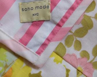 pink lemonade ~ a garden blanket ~ picnic, summer ,home decor
