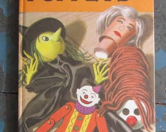 Easy To Make Puppets - Children's Make Your Own Puppets  Ladybird Book - 1970's - Series 633