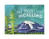Mountains Are Calling custom Listing