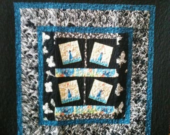 Festival Sale Rejoice Always a 50 x 50 inch ethnic art quilt