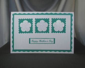 Handcrafted Greeting Card: Mother's Day, Birthday, Congratulations, and More; Choose Your Color; Modify for Any Occasion