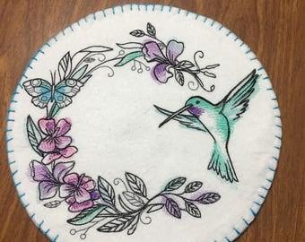 Machine Embroidered