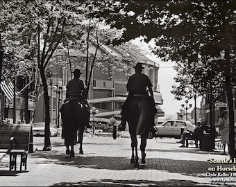 SEATTLE'S FINEST on HORSEBACK, King Dome, Clyde Keller photo