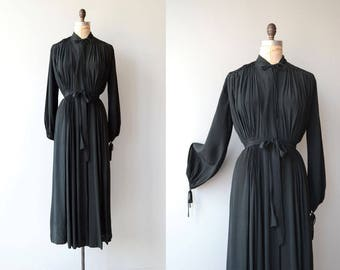 Quous Inno silk robe | vintage 1930s robe | silk 30s dressing gown