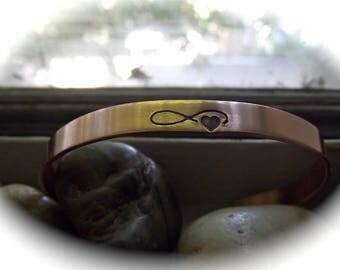 Infinity Love, Skinny bracelet