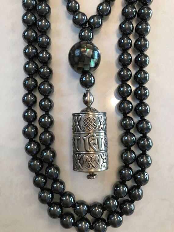 Hematite Mala/Prayer Beads