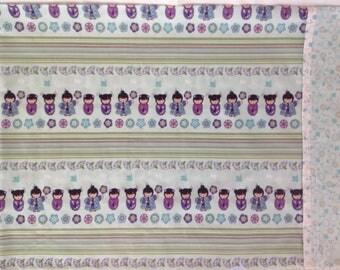 Kokeshi dolls pillowcase