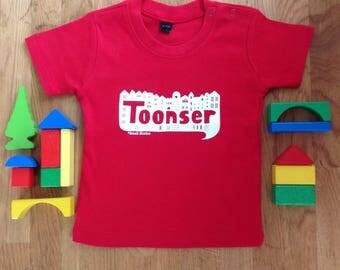 SALE - Toonser baby tshirt