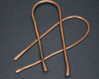 Copper Hair Pins