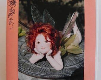 Garden fairy sculptured doll pattern by Arlene's Original Designs