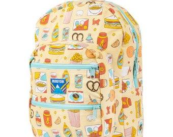 Vintage Treat Big Pocket Backpack