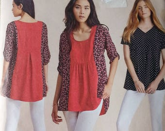 Simplicity 8054 Misses Top Pattern In K DESIGNS  Easy to Sew Pattern Size XXS to XXLarge