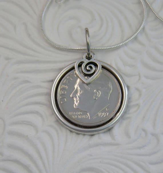 21 Wedding Anniversary Gifts: 21st Wedding Anniversary Or Birthday Gift Necklace 1996 US