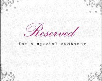 Reserved listing for ehardin