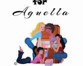 CUSTOM LISTING FOR Aguella