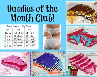 Prints - Dundies of the Month Subscription/Club - You choose size and subscription time
