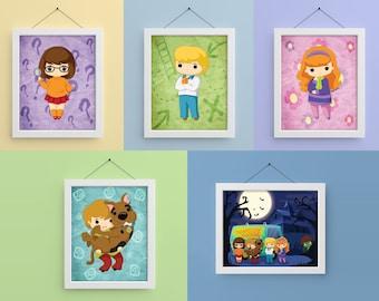 Scooby Gang 8x10 Prints