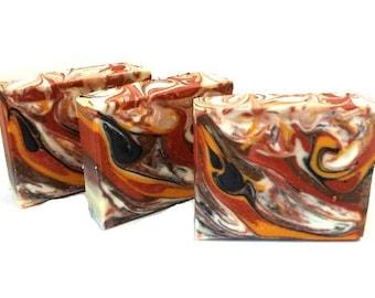Sandalwood Soap -  cold process soap/handmade soap/homemade soap/vegan gift soap