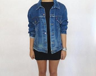 40% SUMMER SALE The Vintage Dark Wash Western Levi's Jacket