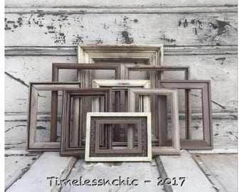 Brown PICTURE FRAME - Picture Frames - Rustic Picture Frame - Wooden Picture Frames - Wood Picture Frame - Photo Frame - Wall Gallery Frames