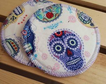 S.S. - BAMBOO NURSING PADS, absorbent nursing pads, reusable nursing pads, cloth nursing pads, bamboo velour nursing pads, fun baby gift