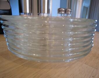 Classique Clear Glass Plates & Bowl