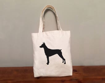 Doberman Pinscher Tote Bag