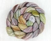 Merino/Bamboo, Handpainted Roving Combed Top: FLUTTER