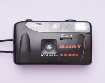 Olympus Shoot & Go R Point and Shoot 35mm Compact Film Camera