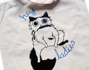 Hey Ladies Cat Tote Bag