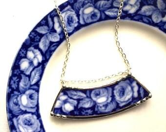Broken China Jewelry Necklace