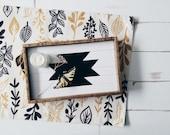 Reclaimed wood tray; serving tray, decorative tray, wooden tray, ottoman tray, hostess gift, wedding decor, boho decor, nordic decor