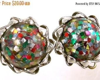 45% off Sale Confetti Lucite Earrings