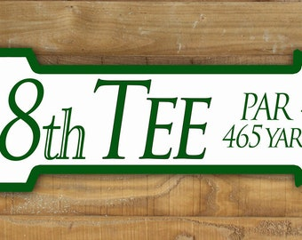 Augusta National Masters Golf Sign