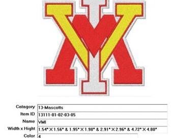 Embroidery Machine File  13111-01-02-03-05-VMI