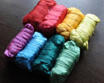 Dyed Mulberry Silk 25 g