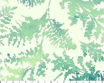 Northcott - Ambrosia - Aegean Sea -  Fern Fronds - Lichen Fabric by yard or select cut  21255-72
