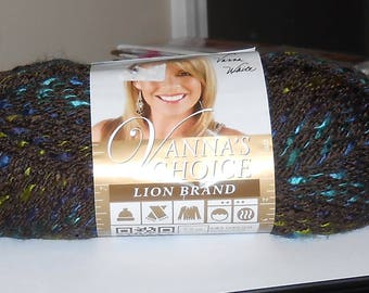 1 SKEIN Lion Brand Vanna's Choice Yarn, 100% Acrylic, 121 yards, 2.5 oz., wt. 4, color: Cambridge.