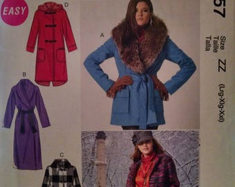 McCall's m6657 new uncut coat pattern