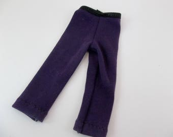 "Leggings for 14.5"" Doll Dark Purple fits Wellie Wishers and Similar dolls"
