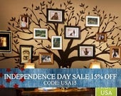 Independence Day Sale - Wall Decals Living room Wall Decals Bedroom Family Tree Decal - Family Tree Wall Decal - Family Room decal - tree