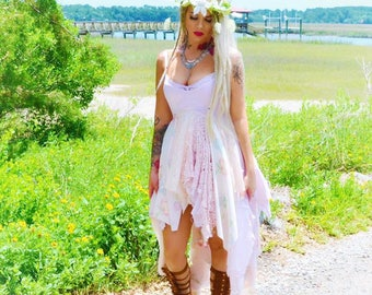 S SALE Sexy Bohemian gypsy Music Festival Stevie Nicks style maxi dress, The Joplin hippie Boho dresses, Bohemian dress, True rebel clothing