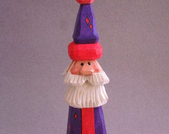 Santa wood carving   #28